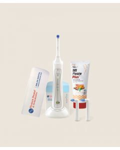Clean and Protect Kit: Power Toothbrush, Sensitivity/Strengthening Paste