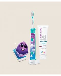 Sonicare Toothbrush, Fun Berry Flavored Toothpaste